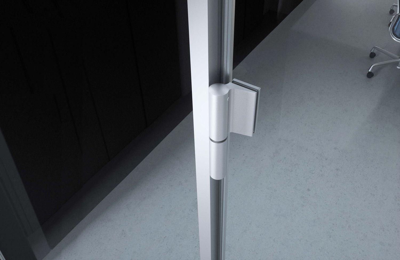 Biloba Evo Frame cerniera chiudiporta in vetro Colcom