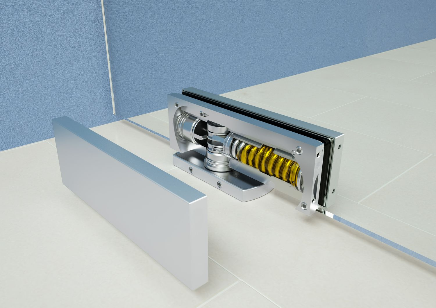 Biloba Unica door closer hinge Colcom