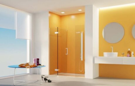Bilobina Centrale shower hinges