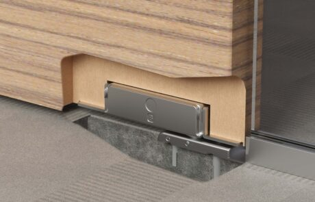 Unica Slim Wood cerniera a scomparsa per porte in legno