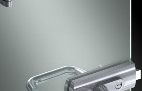 Flexa serrature per porte in vetro Colcom