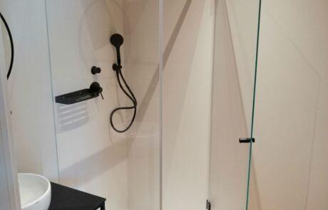 Accessori box doccia nero in vetro Colcom