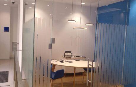 Hydraulic hinges Biloba-Evo for glass doors