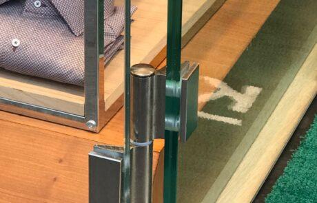 cerniere per porte a vetro apertura 180 Colcom