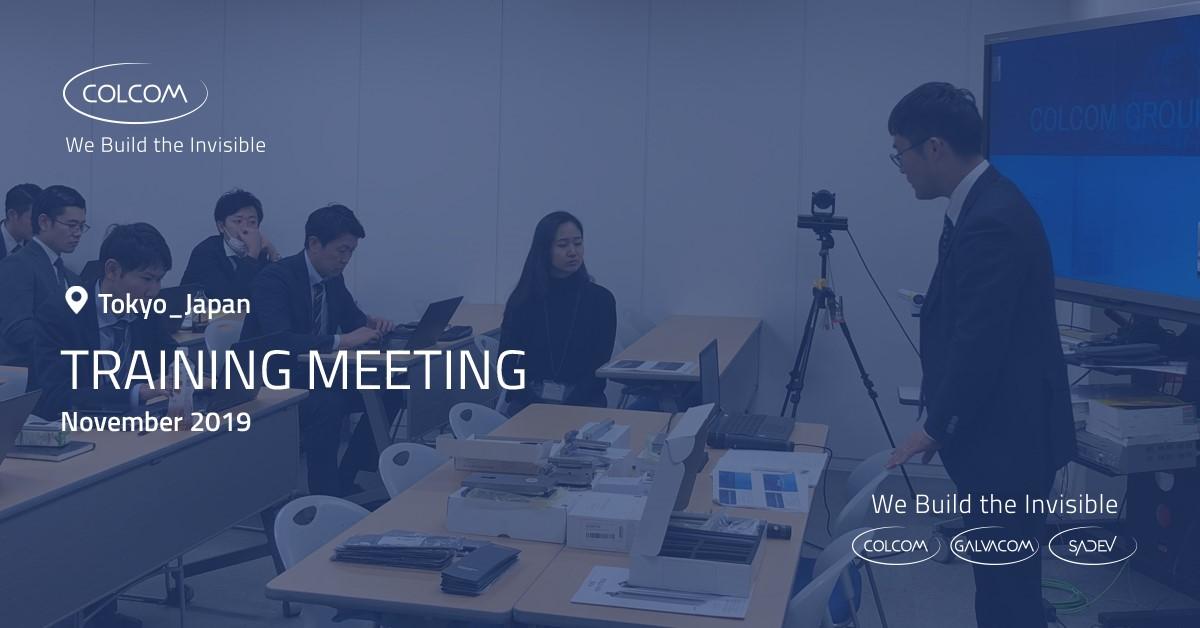 Training Meeting Japan Colcom