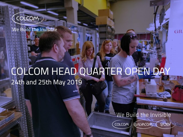 Open day head quarter Colcom